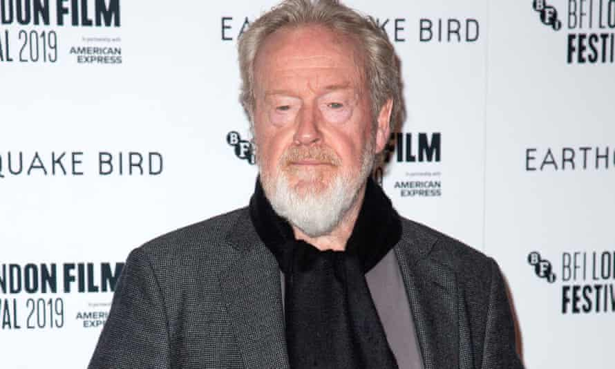 'Half the world's leaders are idiots' … Ridley Scott.