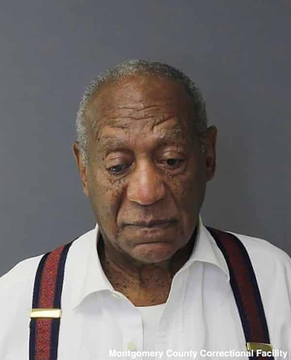 Booking photo from the Montgomery County Correctional Facility shows comedian Bill Cosby after his sentencing on Tuesday