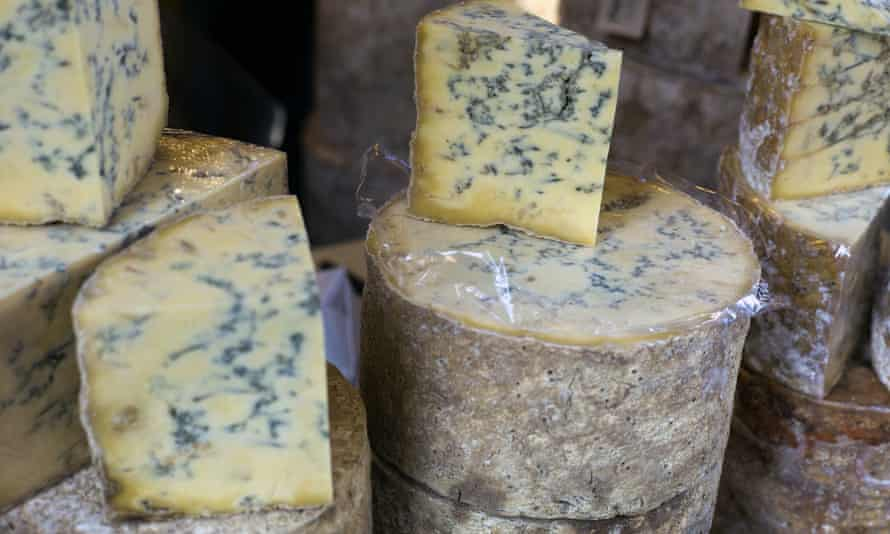 Smell of success: sales of strong cheeses rose almost 8% in the year to August.