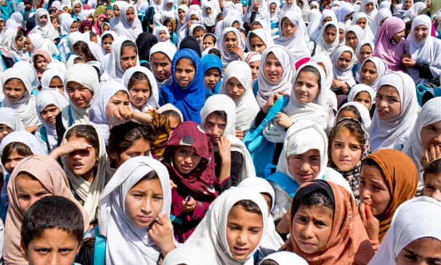 Students in Nangarhar province, Afghanistan