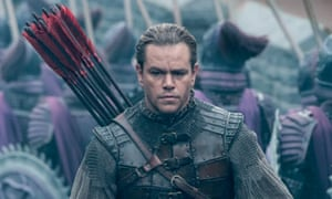 Great Wall of Outrage: one blogger called the film 'the latest in the grand cinematic tradition of the Special White Person'.