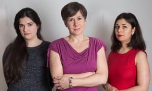 Kate Maltby, Bridget Harris and Ava Etemadzadeh
