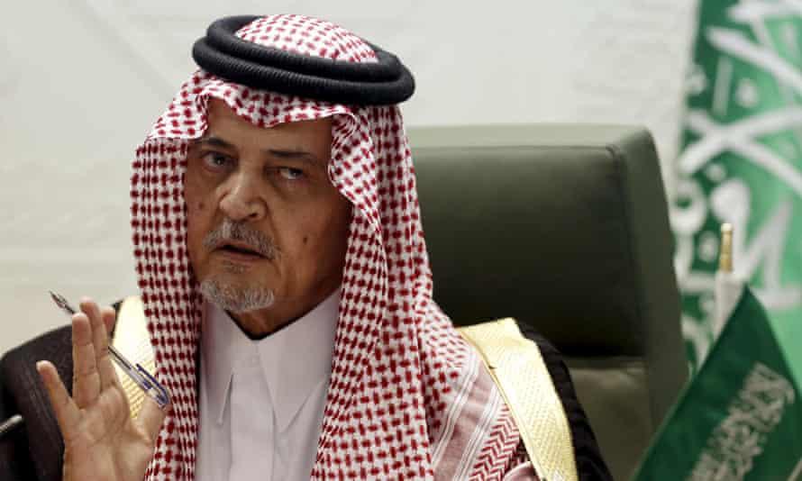 Prince Saud al-Faisal, Saudi Arabia's foreign minister