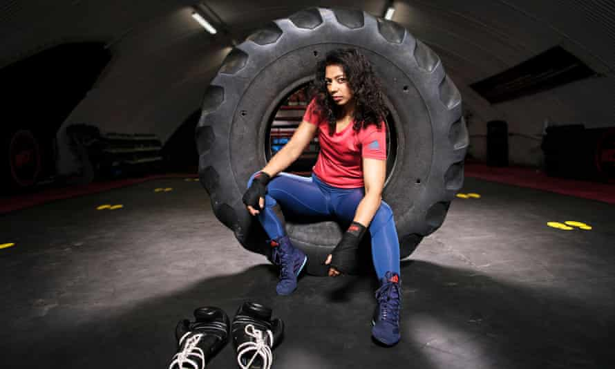 Ruqsana Begum turned to professional boxing after an offer from former two-weight champion David Haye in 2018.