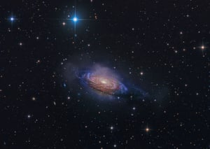 Galaxies CategoryWinner - NGC 3521 Mysterious Galaxy by Steven Mohr
