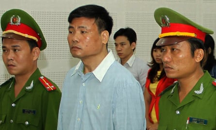 Truong Duy Nhat previously served two years in prison after writing blogposts critical of Vietnam's communist leadership.