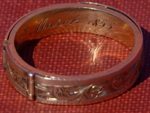Charlotte Bronte Mourning Ring Antiques Roadshow