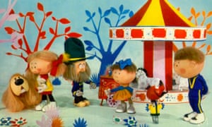 Sing on! The Magic Roundabout.