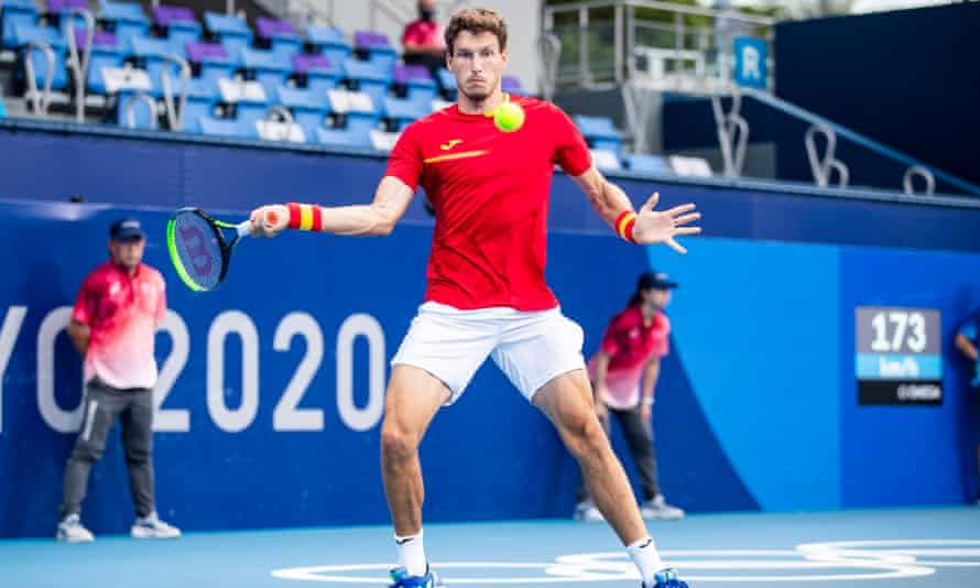 Pablo Carreno Busta defeated Dannil Medvedev, who has reached two grand slam finals.