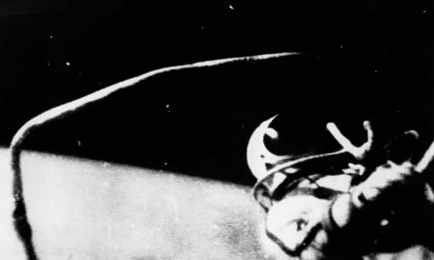 Alexei Leonov's walk in space on 18 March 1965 lasted just over 12 minutes.