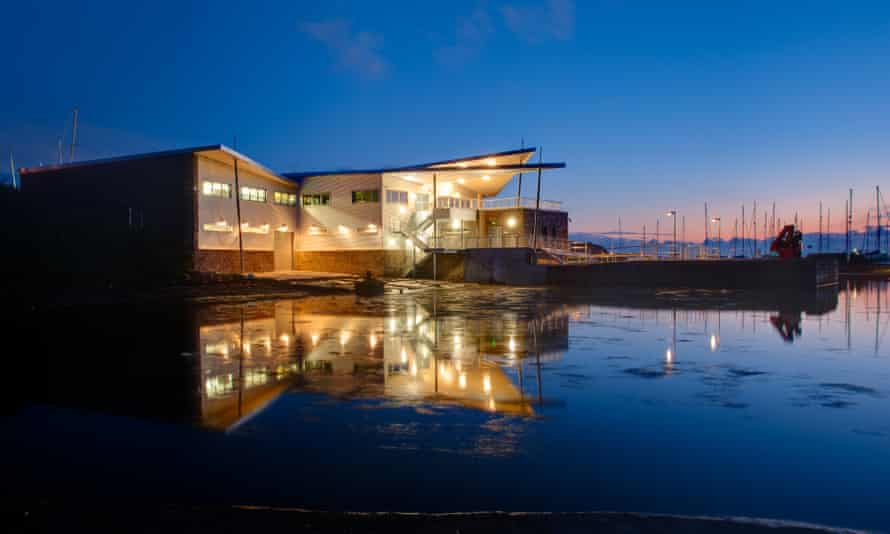 University of Plymouth Marine Station.
