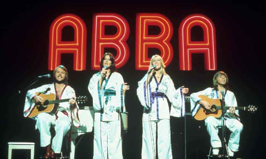 Abba on stage