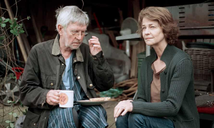 Charlotte Rampling and Tom Courtenay in 2015's 45 Years, for which she was Oscar nominated.