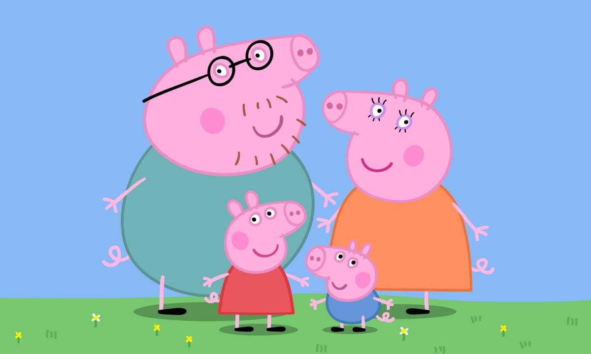 It Was Like Meeting The Pope How Peppa Pig Became A 1bn Global Phenomenon Peppa Pig The Guardian
