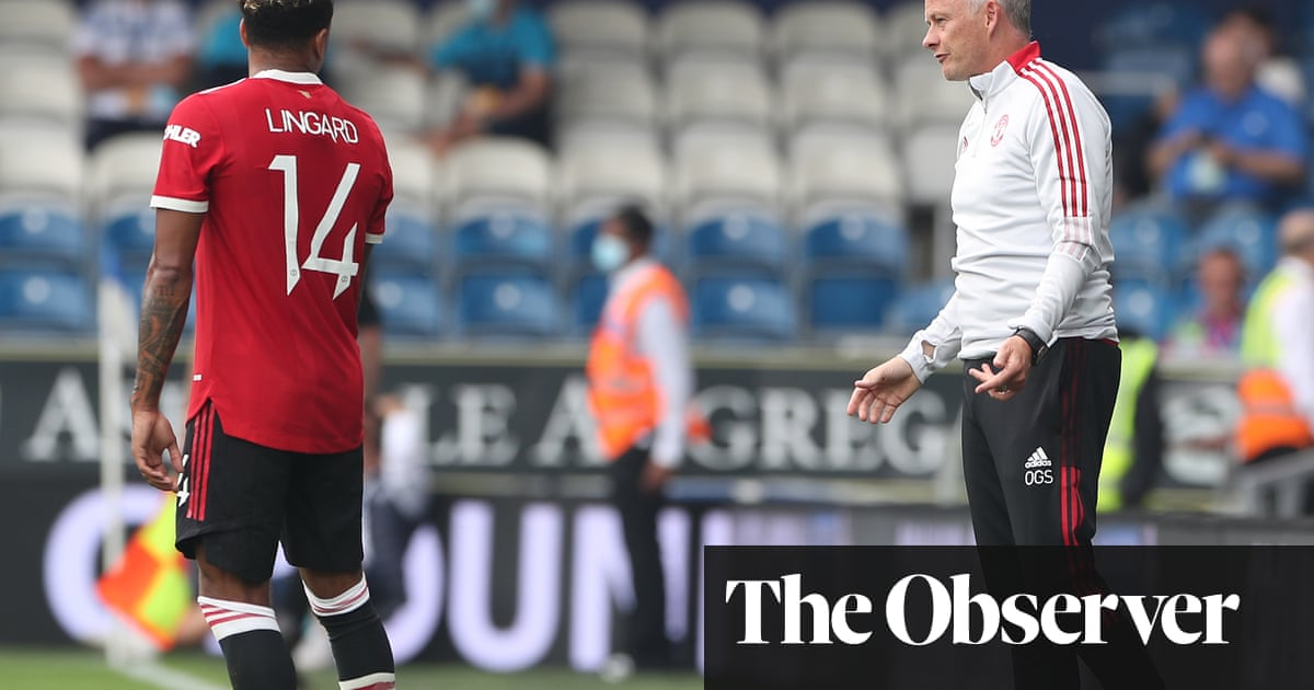 Solskjær now has his own Manchester United team but trophies must follow
