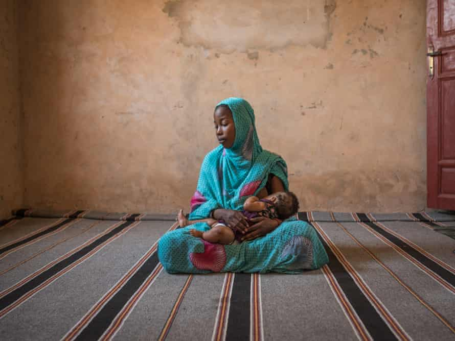 Mabrouka, 20, was taken from her mother, also a slave, when she was still a child