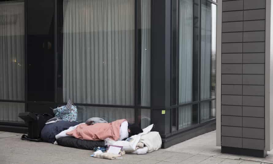Homeless people are being supported to take action by charity Groundswell.