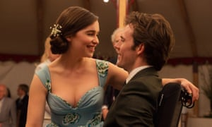 Emilia Clarke and Sam Claflin Me Before You: the message is aimed squarely at the caregiver