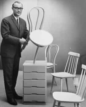 Ikea's founder Ingvar Kamprad in 1965.