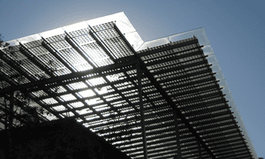 Energy efficient infrastructure includes buildings that produce, store and manage their own energy.