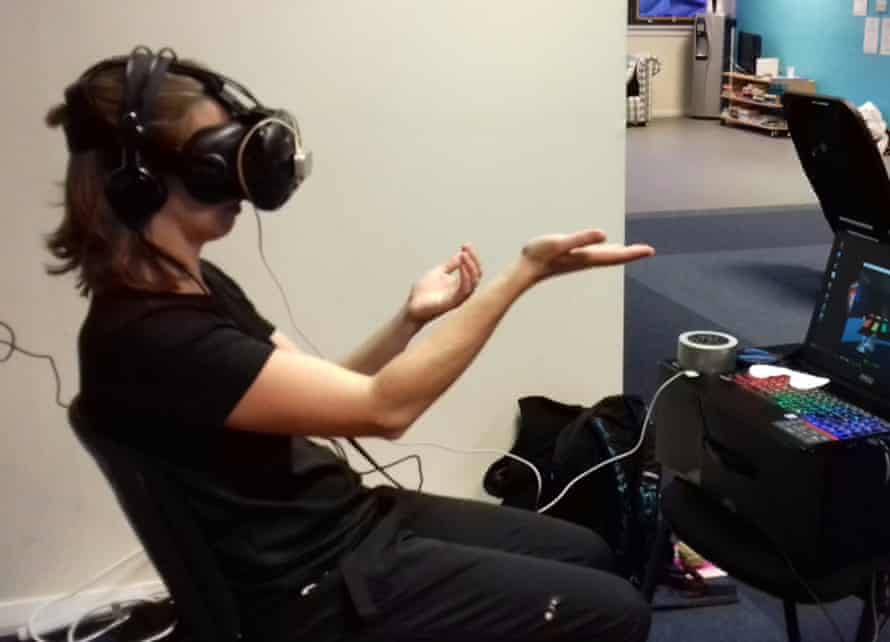 The Immersive Rehab app provides virtual reality physiotherapy