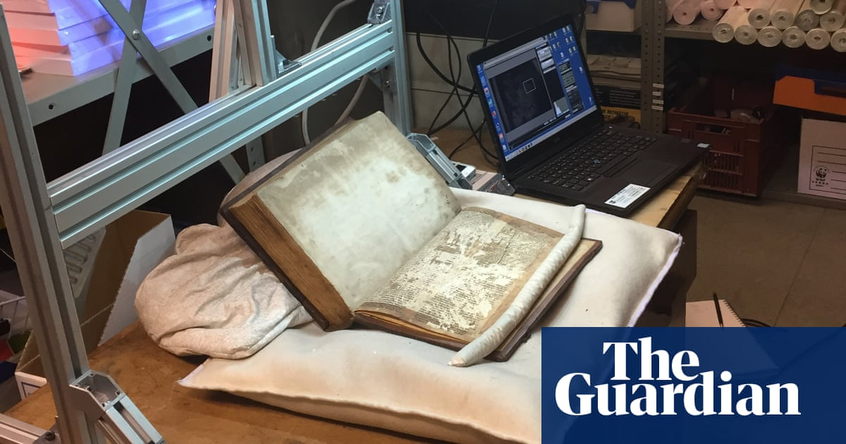 Fragments of medieval Merlin manuscript found in Bristol library reveal 'chaster' story