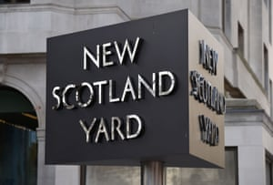 New Scotland Yard, the headquarters of the Metropolitan Police.