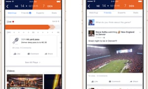 Facebook's Sports Stadium app will focus on major international sporting events, and will debut at the NFL's conference championship games and the Super Bowl