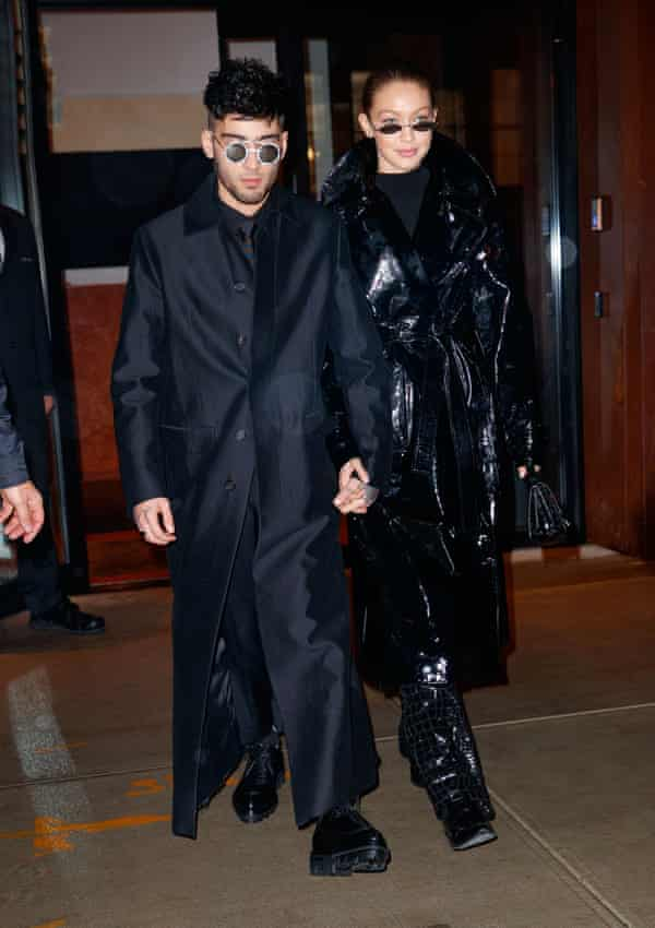 Zayn Malik and Gigi Hadid give the Matrix look a spin on the high street.