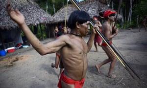 Yanomami tribe, Brazil