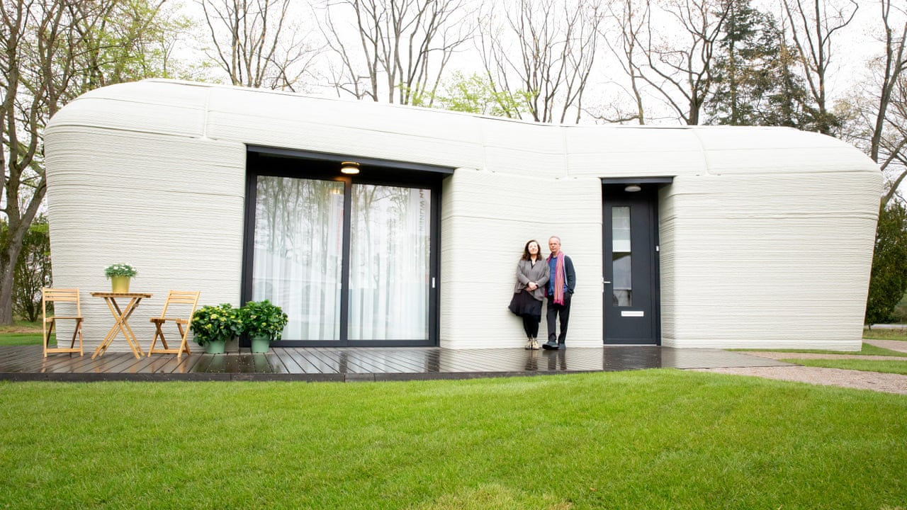 Europe's first fully 3D – Printed house gets its first tenants