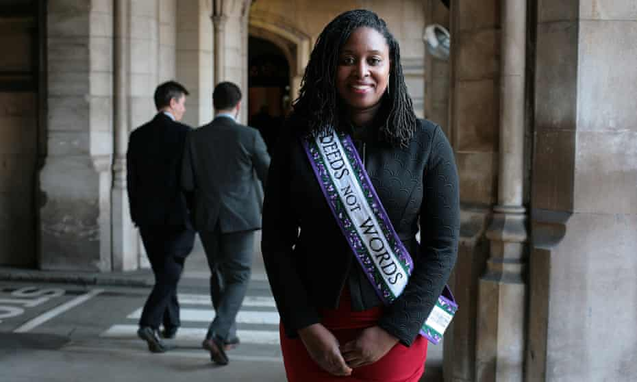 Labour MP and shadow equalities minister, Dawn Butler