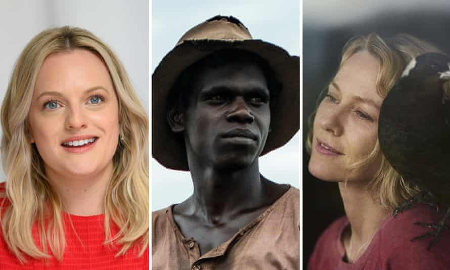 Elisabeth Moss (who stars in Run Rabbit Run); Jacob Junior Nayinggul in High Ground; Naomi Watts in Penguin Bloom.