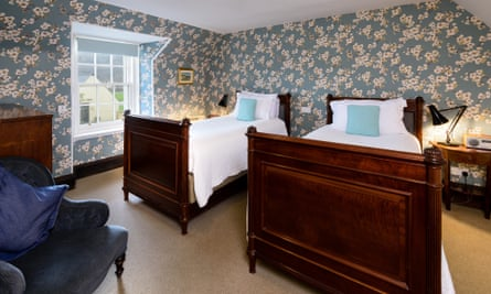 Twin bedroom, the Ceilidh Place