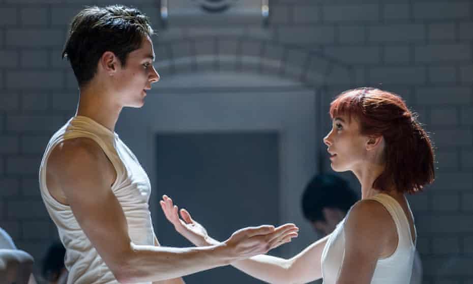 Teen love … Paris Fitzpatrick as Romeo and Cordelia Braithwaite as Juliet in Matthew Bourne's version of the Prokofiev ballet.