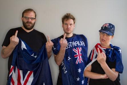 True Aussie Patriots.