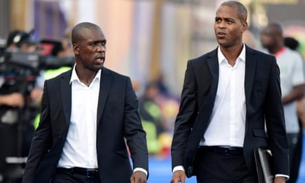 Clarence Seedorf and his assistant Patrick Kluivert have both been sacked by Cameroon after their early exit from the Africa Cup of Nations.