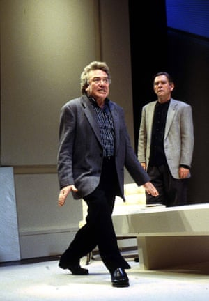 Art, 1997Finney with Tom Courtenay in the play by Yasmina Reza, at the Wyndhams Theatre, London