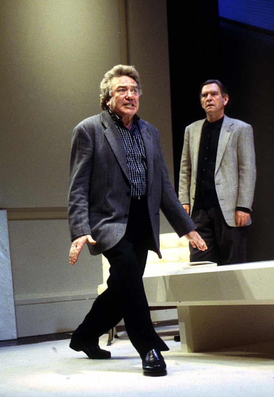 'Like a burly version of Molière's Alceste' … Albert Finney, left, with Tom Courtenay.