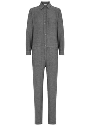 """Best for everyday.<br>£290, by Isabel Marant Etoile from<a href=""""http://www.harveynichols.com/123362-peters-charcoal-twill-jumpsuit/""""> harveynichols.com</a>"""