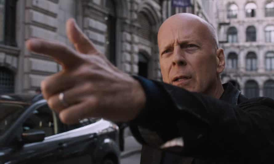 Lock and load... Bruce Willis in Death Wish.