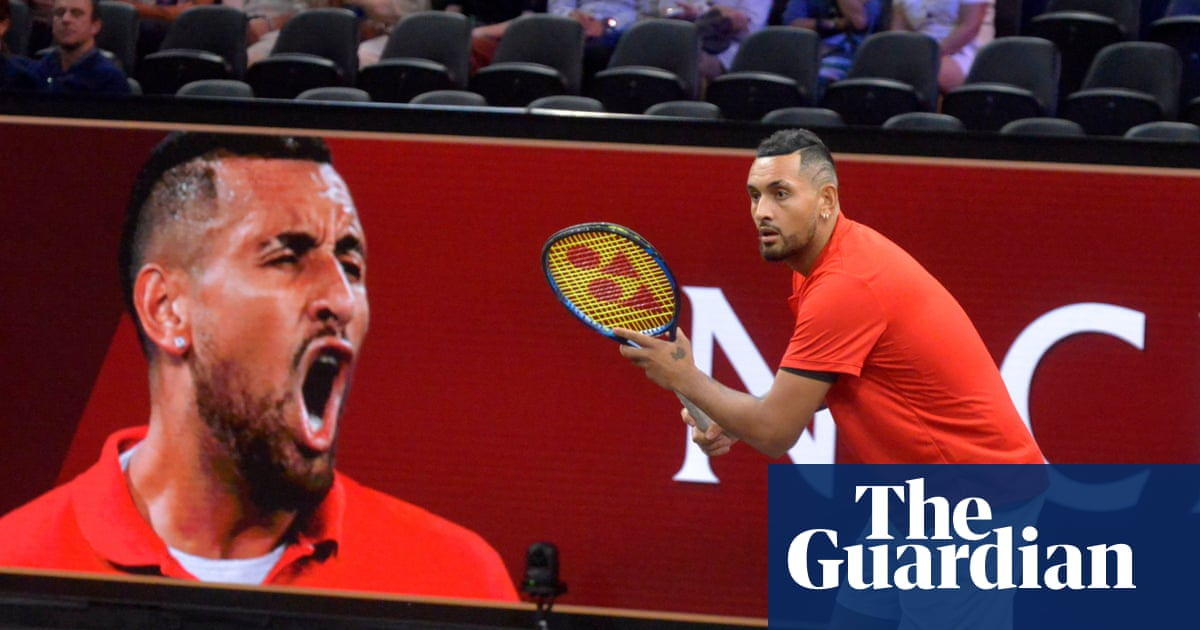 Nick Kyrgios unsure of tennis future after Laver Cup loss to Tsitsipas