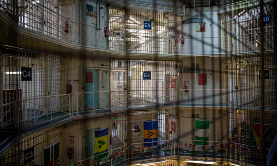 A view of the interior of HMP Pentonville