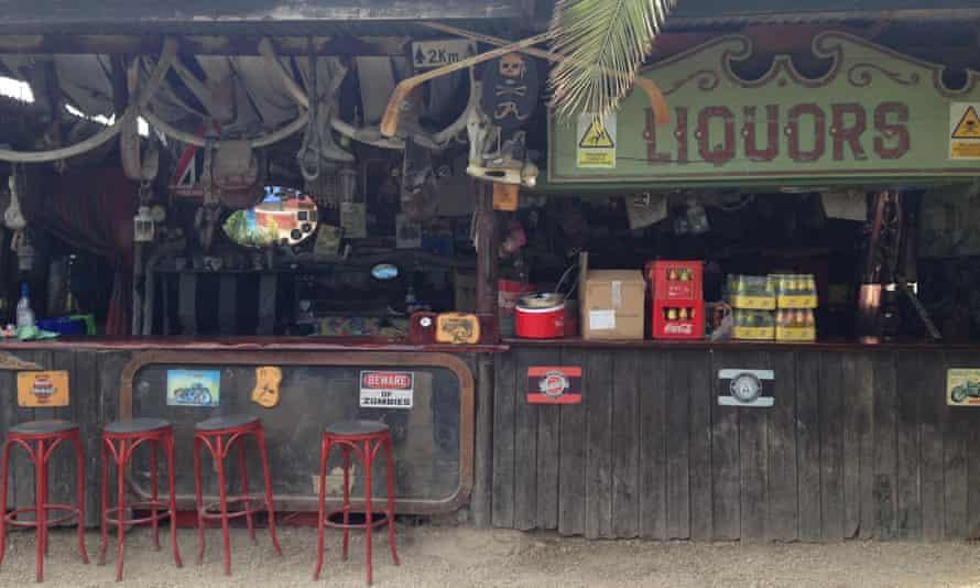 Jo Bar, Escullos, Almeria view of bar with stools