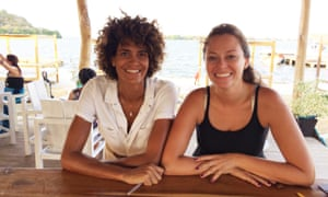 Portia Hart (left) and Lina Bustillo