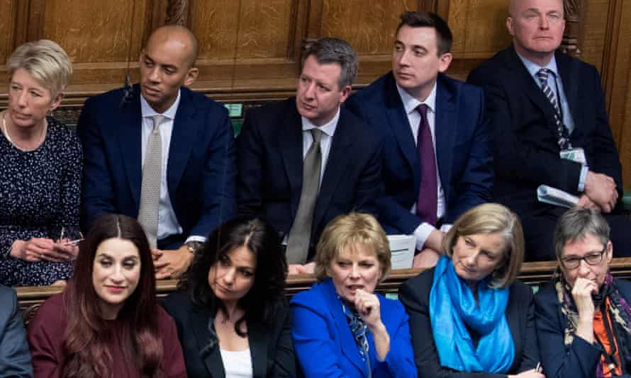 The Independent Group in the House of Commons.