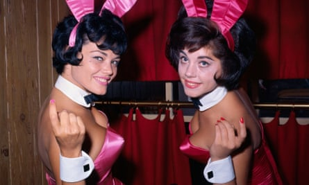 Bunnies at New York Playboy Club in 1962.