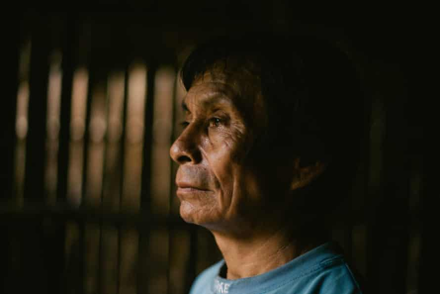 The government talks about development but means exploitation, says Andrés Noningo, 62, member of the Council of the Elders of the Wampis Nation.
