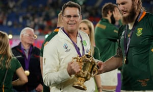 South Africa's  Rassie Erasmus again ensured that no nation with a head coach from overseas has ever won a World Cup.
