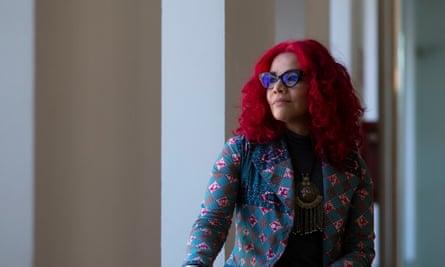 Egyptian feminist journalist Mona Eltahawy.